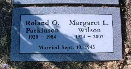 WILSON, MARGARET L. - Yavapai County, Arizona | MARGARET L. WILSON - Arizona Gravestone Photos
