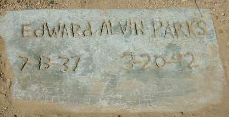 PARKS, EDWARD ALVIN - Yavapai County, Arizona | EDWARD ALVIN PARKS - Arizona Gravestone Photos