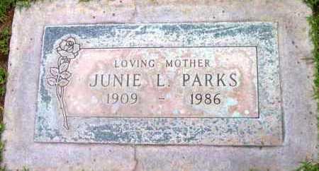 PARKS, JUNIE L. - Yavapai County, Arizona | JUNIE L. PARKS - Arizona Gravestone Photos