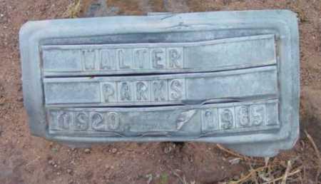 PARKS, WALTER RICHARD - Yavapai County, Arizona | WALTER RICHARD PARKS - Arizona Gravestone Photos
