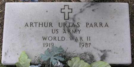 PARRA, ARTHUR URIAS - Yavapai County, Arizona | ARTHUR URIAS PARRA - Arizona Gravestone Photos