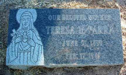 PARRA, TERESA - Yavapai County, Arizona | TERESA PARRA - Arizona Gravestone Photos