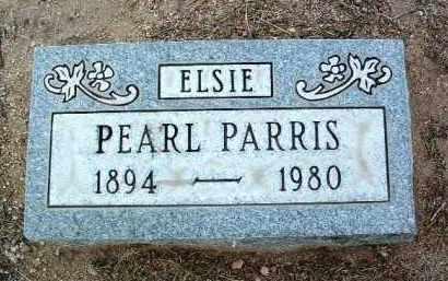 CLUTTER PARRIS, ELSIE (PEARL) - Yavapai County, Arizona   ELSIE (PEARL) CLUTTER PARRIS - Arizona Gravestone Photos