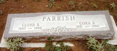 PARRISH, CORA BELLE - Yavapai County, Arizona | CORA BELLE PARRISH - Arizona Gravestone Photos