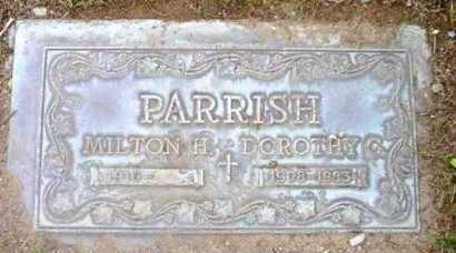 PARRISH, MILTON HOWLAND - Yavapai County, Arizona | MILTON HOWLAND PARRISH - Arizona Gravestone Photos