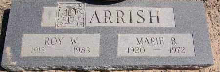 PARRISH, ROY W. - Yavapai County, Arizona | ROY W. PARRISH - Arizona Gravestone Photos