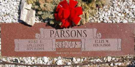 PARSONS, ELLIS MELVIN - Yavapai County, Arizona | ELLIS MELVIN PARSONS - Arizona Gravestone Photos