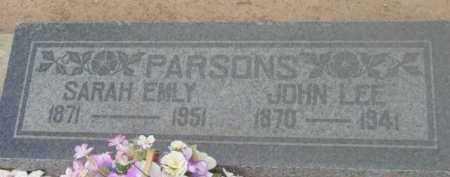 MORRIS PARSONS, SARAH E. - Yavapai County, Arizona   SARAH E. MORRIS PARSONS - Arizona Gravestone Photos
