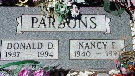 PARSONS, NANCY E. - Yavapai County, Arizona | NANCY E. PARSONS - Arizona Gravestone Photos