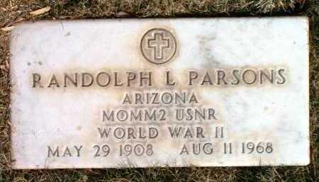 PARSONS, RANDOLPH LOUIS - Yavapai County, Arizona | RANDOLPH LOUIS PARSONS - Arizona Gravestone Photos