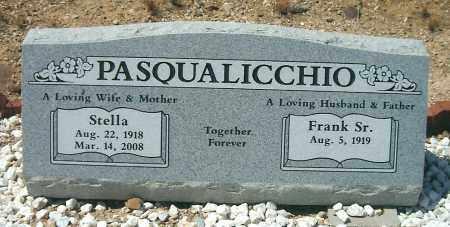 PASQUALICCHIO, FRANK D., SR. - Yavapai County, Arizona | FRANK D., SR. PASQUALICCHIO - Arizona Gravestone Photos