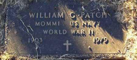 PATCH, WILLIAM G. - Yavapai County, Arizona | WILLIAM G. PATCH - Arizona Gravestone Photos