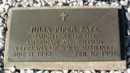 PATE, JULIA MAE - Yavapai County, Arizona | JULIA MAE PATE - Arizona Gravestone Photos