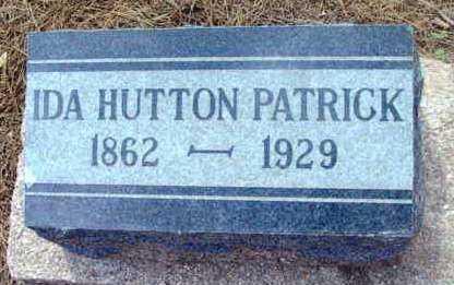 HUTTON PATRICK, IDA - Yavapai County, Arizona | IDA HUTTON PATRICK - Arizona Gravestone Photos