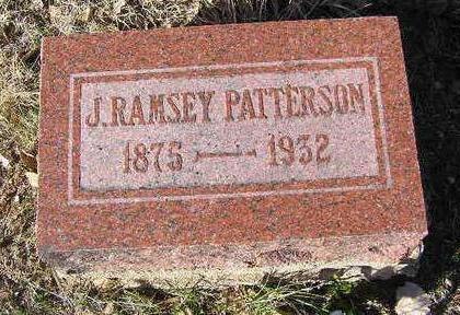 PATTERSON, J. RAMSEY - Yavapai County, Arizona | J. RAMSEY PATTERSON - Arizona Gravestone Photos