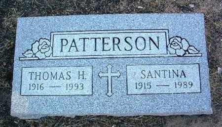 PATTERSON, THOMAS H. - Yavapai County, Arizona | THOMAS H. PATTERSON - Arizona Gravestone Photos