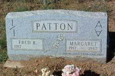 PATTON, FRED RUDYARD - Yavapai County, Arizona   FRED RUDYARD PATTON - Arizona Gravestone Photos