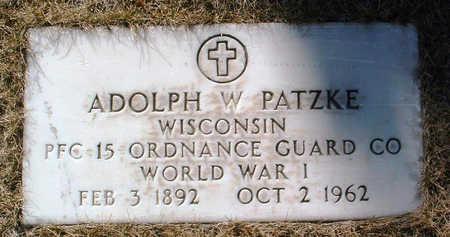 PATZKE, ADOLPH W. - Yavapai County, Arizona | ADOLPH W. PATZKE - Arizona Gravestone Photos