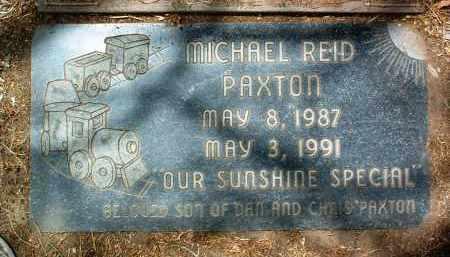 PAXTON, MICHAEL REID - Yavapai County, Arizona | MICHAEL REID PAXTON - Arizona Gravestone Photos