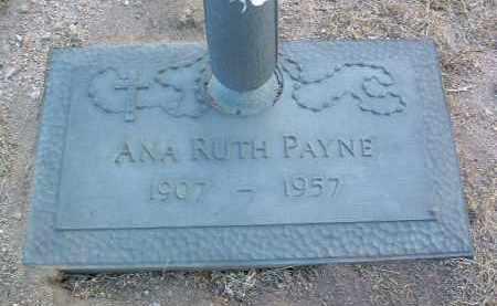 PAYNE, ANA RUTH - Yavapai County, Arizona   ANA RUTH PAYNE - Arizona Gravestone Photos