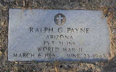 PAYNE, RALPH G. - Yavapai County, Arizona | RALPH G. PAYNE - Arizona Gravestone Photos