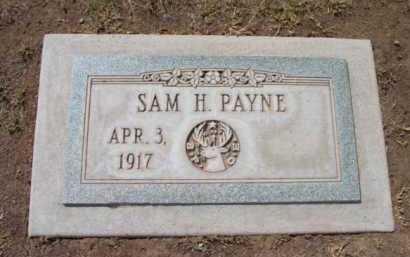 PAYNE, SAM HOWARD - Yavapai County, Arizona | SAM HOWARD PAYNE - Arizona Gravestone Photos