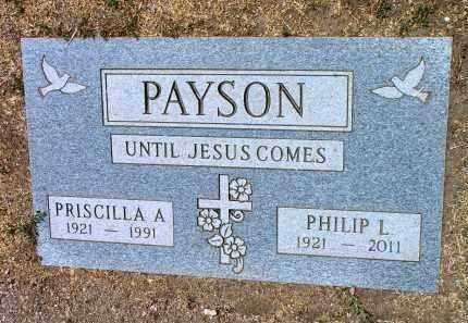 WIGGIN PAYSON, PRISCILLA A. - Yavapai County, Arizona | PRISCILLA A. WIGGIN PAYSON - Arizona Gravestone Photos