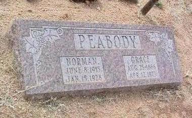 PEABODY, ROBERT NORMAN - Yavapai County, Arizona | ROBERT NORMAN PEABODY - Arizona Gravestone Photos