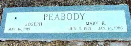 PEABODY, JOSEPH - Yavapai County, Arizona | JOSEPH PEABODY - Arizona Gravestone Photos