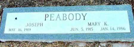 PEABODY, MARY K. - Yavapai County, Arizona | MARY K. PEABODY - Arizona Gravestone Photos