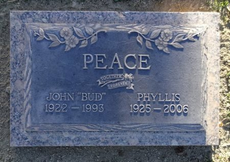 CHRISTENSON PEACE, P. - Yavapai County, Arizona | P. CHRISTENSON PEACE - Arizona Gravestone Photos