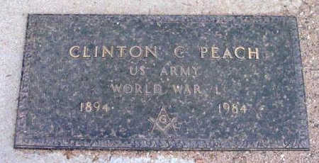 PEACH, CLINTON CALLAWAY  (C.C.) - Yavapai County, Arizona | CLINTON CALLAWAY  (C.C.) PEACH - Arizona Gravestone Photos