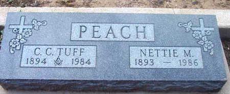 PEACH, NETTIE M. - Yavapai County, Arizona | NETTIE M. PEACH - Arizona Gravestone Photos