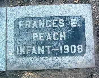 PEACH, FRANCES ELIZA - Yavapai County, Arizona | FRANCES ELIZA PEACH - Arizona Gravestone Photos