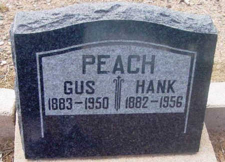 PEACH, HENRY NEWTON (HANK) - Yavapai County, Arizona | HENRY NEWTON (HANK) PEACH - Arizona Gravestone Photos