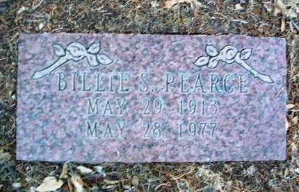 PEARCE, BILLIE S. - Yavapai County, Arizona | BILLIE S. PEARCE - Arizona Gravestone Photos