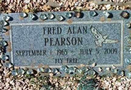 PEARSON, FRED ALAN - Yavapai County, Arizona | FRED ALAN PEARSON - Arizona Gravestone Photos