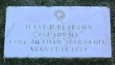 PEARSON, JESSE  HOUSTON - Yavapai County, Arizona | JESSE  HOUSTON PEARSON - Arizona Gravestone Photos