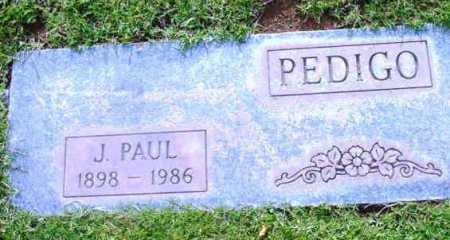 PEDIGO, JAMES PAUL - Yavapai County, Arizona | JAMES PAUL PEDIGO - Arizona Gravestone Photos