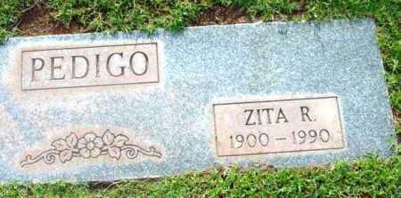 PEDIGO, ZITA RITA - Yavapai County, Arizona | ZITA RITA PEDIGO - Arizona Gravestone Photos