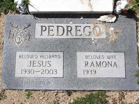 PEDREGO, RAMONA - Yavapai County, Arizona | RAMONA PEDREGO - Arizona Gravestone Photos