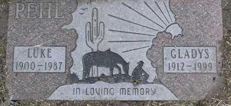 PEHL, GLADYS MERLE - Yavapai County, Arizona   GLADYS MERLE PEHL - Arizona Gravestone Photos
