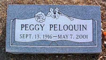 PELOQUIN, PEGGY F. - Yavapai County, Arizona | PEGGY F. PELOQUIN - Arizona Gravestone Photos