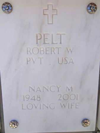 PELT, NANCY M. - Yavapai County, Arizona | NANCY M. PELT - Arizona Gravestone Photos