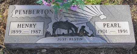 PEMBERTON, PEARL ELLEN - Yavapai County, Arizona   PEARL ELLEN PEMBERTON - Arizona Gravestone Photos