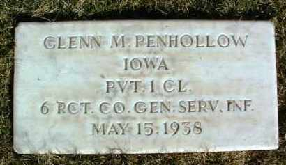 PENHOLLOW, GLENN MERWIN - Yavapai County, Arizona | GLENN MERWIN PENHOLLOW - Arizona Gravestone Photos
