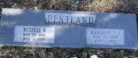 PENTLAND, MARGUERITE F. - Yavapai County, Arizona | MARGUERITE F. PENTLAND - Arizona Gravestone Photos