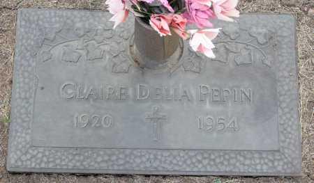 PEPIN, CLAIRE DELIA - Yavapai County, Arizona | CLAIRE DELIA PEPIN - Arizona Gravestone Photos
