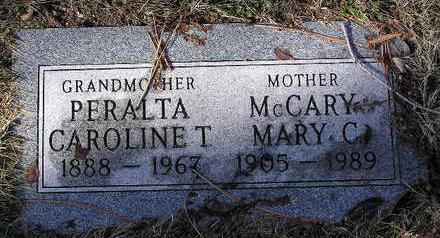 MCCARY, MARY C. - Yavapai County, Arizona | MARY C. MCCARY - Arizona Gravestone Photos