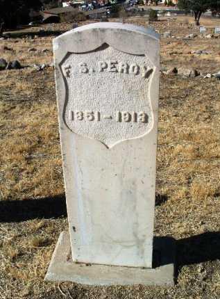 PERCY, F.  S. (DOC) - Yavapai County, Arizona | F.  S. (DOC) PERCY - Arizona Gravestone Photos